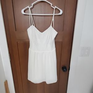 Cute Candie's White Dress
